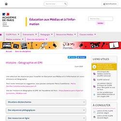 Ressources AC Paris Histoire - Géographie et EMI