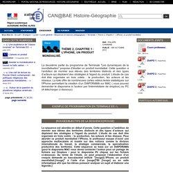 Histoire-Géographie-Lyon - Thème 2, Chapitre 1 : L'iPhone, un produit mondialisé.