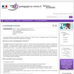 Se former Hist-Géo cycle 4 - La pédagogie inversée