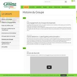 Histoire du Groupe – Groupe Casino FR