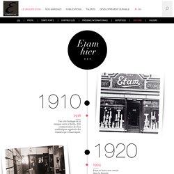 Histoire - Groupe ETAM