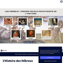 L'Histoire des Hébreux by e.gilloir on Genial.ly