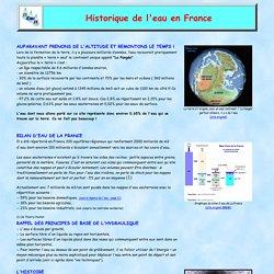 Histoire Eau Hyères - Historique de l'eau potable en France - par Michel AUGIAS