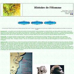 Histoire de l'Homme