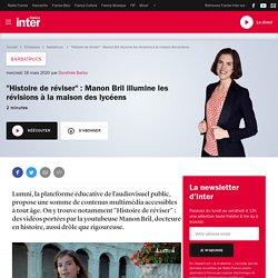 """""""Histoire de réviser"""" : Manon Bril illumine les révisions à la maison des lycéens"""