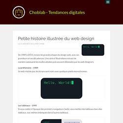 Petite histoire illustrée du web design