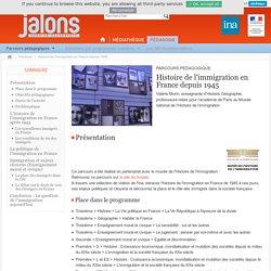 Histoire de l'immigration en France depuis 1945