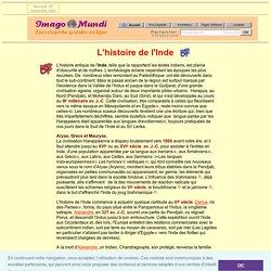Histoire de l'Inde.