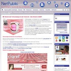 Histoire de l'informatique et de l'Internet : Site Histoire CIGREF