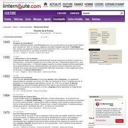 Histoire de la Presse - L'Internaute Magazine