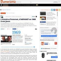 L'histoire d'Internet, d'ARPANET en 1969 à nos jours