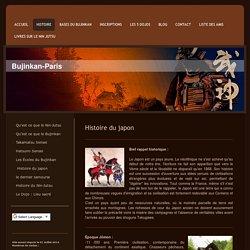 Une bref histoire du Japon - Bujinkan-Paris