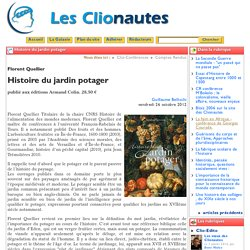 Histoire du jardin potager
