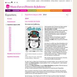 Musée d'art et d'histoire du Judaïsme Exposition 2014 Les mondes de Gotlib