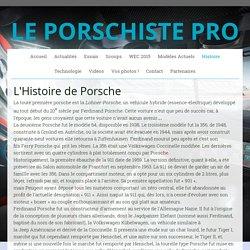 Histoire - Le Porschiste Pro