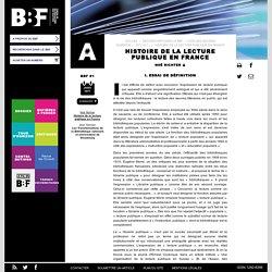 Histoire de la lecture publique en France
