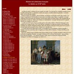 Histoire de la littérature française des origines à nos jours