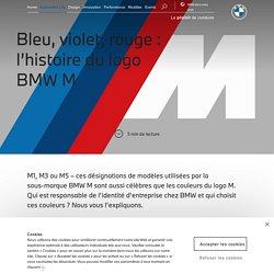 L'histoire du logo BMW M et de ses couleurs