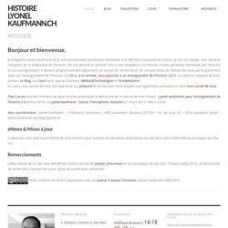 histoire lyonel kaufmann.ch