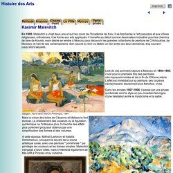 Histoire des Arts - Kasimir Malévitch (Malevich)