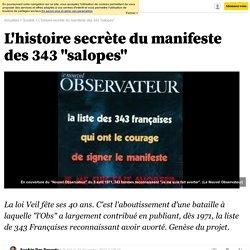 """L'histoire secrète du manifeste des 343 """"salopes""""- 31 décembre 2014"""