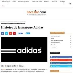 Histoire de la marque Adidas - Blog Sacastar