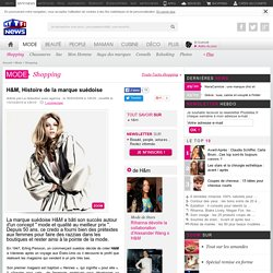 H&M, Histoire de la marque suédoise - Mode