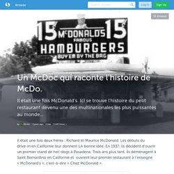 Un McDoc qui raconte l'histoire de McDo. (with images) · Mcdocumentaire
