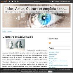 L'histoire de McDonald's - Infos, Actus, Culture et emplois dans le Vaucluse