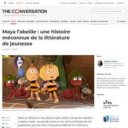 Maya l'abeille : une histoire méconnue de la littérature de jeunesse