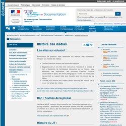 Histoire des médias — Documentation (CDI)