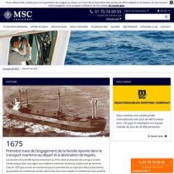 Histoire de la compagnie Mediterranean Shipping Company