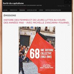 Histoire des femmes et de leurs luttes au cours des années 1968 - avec Michelle Zancarini-Fournel