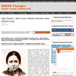Elka Ruvinskaia destin d'1 anarchiste