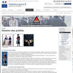 Histoire des préfets / Histoire