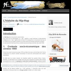 L'histoire du mouvement Hip-Hop