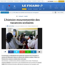France : L'histoire mouvementée des vacances scolaires