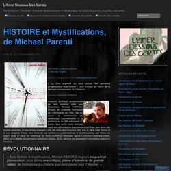 HISTOIRE et Mystifications, de Michael Parenti