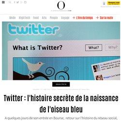 Twitter : l'histoire secrète de la naissance de l'oiseau bleu - 5 novembre 2013