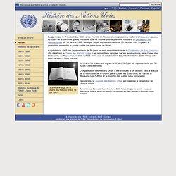 Histoire des Nations Unies