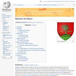 Histoire de Nîmes