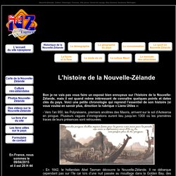 L'histoire de la Nouvelle-Zélande sur le site perso de Francois