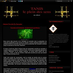 Histoire occulte du Cannabis - tanis.over-blog.com