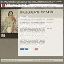 Histoire d'oeuvres : Pan Yuliang