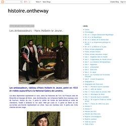 histoire.ontheway: Les Ambassadeurs - Hans Holbein le Jeune.