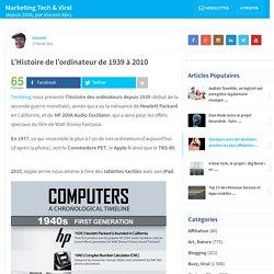 L'Histoire de l'ordinateur de 1939 à 2010