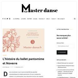 L'histoire du ballet pantomime et Noverre - Master Danse