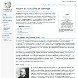 Histoire de la maladie de Parkinson
