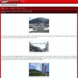 Histoire & Patrimoine - Grandeur et décadence des Bains de la Caille : Soleil sur Saint-Julien
