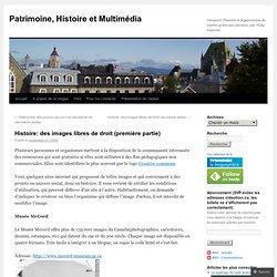 Histoire: des images libres de droit (première partie) « Patrimo